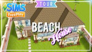 the sims freeplay beach house pool house original design