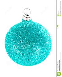cyan christmas decorations stock image image 7287871