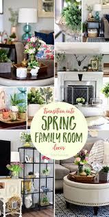 transition to spring family room decor tidymom