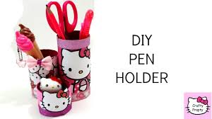 diy pen holder diy desk organizer card board youtube