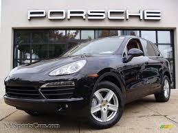 2011 Porsche Cayenne S - 2011 porsche cayenne s in jet black metallic a42104