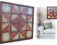 reclaimed wood artwork wall sculptures quilt designs rustic modern