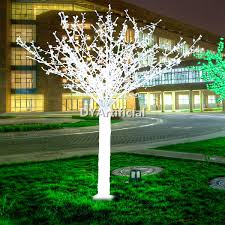 2500 led 200cm high artificial lighted trees dongyi