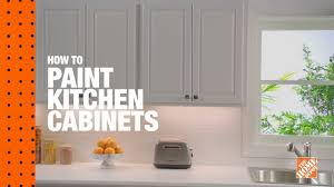 how to paint unfinished cabinets how to paint kitchen cabinets the home depot