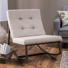 Indoor Rocking Chair Cushions by Belham Living Grayson Tufted Rocking Chair Hayneedle