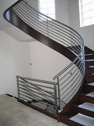 Metal Banister Rail Furniture Spiral Staircase Designs Ideas Photos With Modern Stair