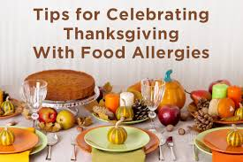 plan ahead when managing the holidays with food allergies kids