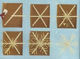 karin lidbeck 16 day count diy snowflake decor