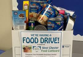 arora collects donations for west chester food cupboard arora
