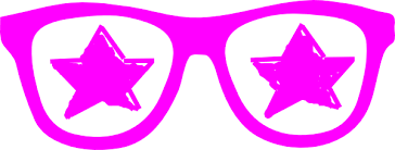 glasses clipart purple star glasses clip art at clker com vector clip art online