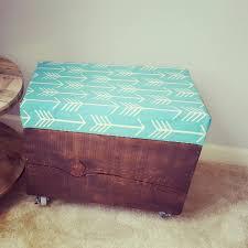 Rolling Storage Ottoman Rolling Storage Ottoman By Upcycledpallet On Etsy Stuff I Make