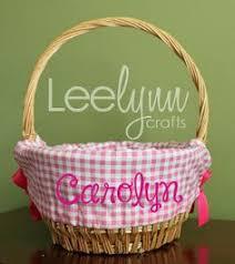 personalized wicker easter baskets custom wicker easter baskets with monogramming pink blue purple