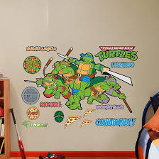 Ninja Turtle Wall Decor 123 Best Nickelodean Wall Decals Images On Pinterest Wall Decals