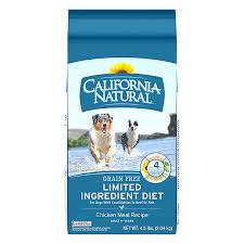 california natural limited ingredient diet dog food natural