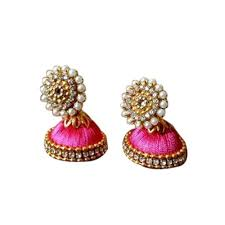 earrings image fancy jhumka earrings at rs 50 pair hyderabad id 13930363130