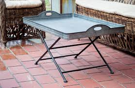 Metal Tray Coffee Table Tray Folding Tray Coffee Table Galvanized Metal Coffee Table
