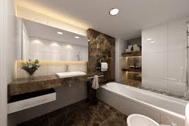 modern bathroom design ideas with simple yet but superb appearance