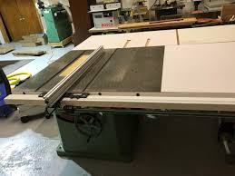 dewalt table saw rip fence extension does anyone use rack pinion table saw fence general woodworking