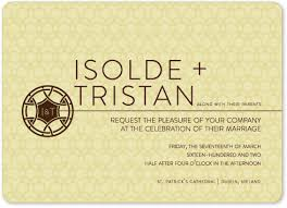 celtic wedding invitations wedding invitations minimalist celtic wedding knot at minted