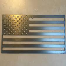 American Flag Wall Hanging Metal U0026 Wood Flags U2013 Metal Art Of Wisconsin