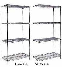 Metro Wire Shelving by Chrome Wire Shelving From Quantum