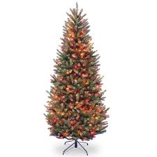 national tree company 9 ft fraser slim fir tree with
