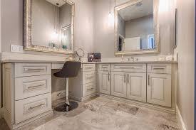 Swivel Vanity Stool Swivel Vanity Stool Bathroom Transitional With Silver Tray Iron Lights
