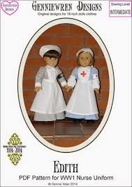 historical pattern review gigi s doll and craft creations ww 1 historical 18 inch doll