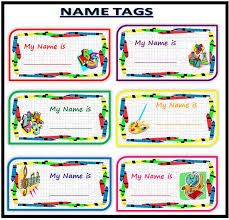 Desk Name Tags by 30 Best Back To Name Tags Images On Pinterest
