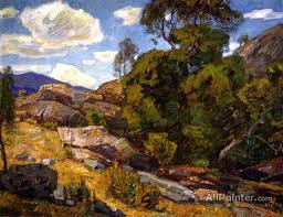 Rugged Landscape 304 Best Artist William Wendt U0026 Other California Artists Images