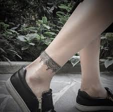 45 exclusive ankle bracelet tattoo for men and women feedpuzzle