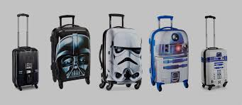 suitcases star wars luggage suitcases for star wars fans