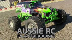 scale remote control monster truck grave digger jam playtime