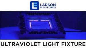 Uvc Light Fixtures Class 1 Division 1 Explosion Proof 100 Watt Ultraviolet Led Light
