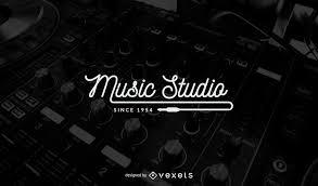 music studio music studio logo template design vector download