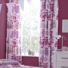 woolly owl curtains 66 x 72 inch