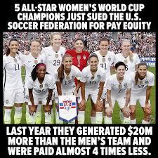 Soccer Hockey Meme - facebook post exaggerates discrepancy between us men s and women s