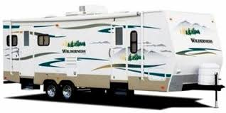 find complete specifications for fleetwood wilderness travel