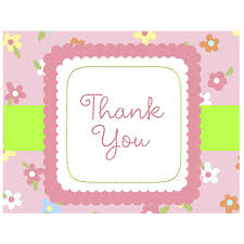bridal shower thank you notes photo thank you notes for baby image