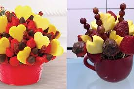 how to make fruit arrangements s day tip make your own terrible edible arrangement