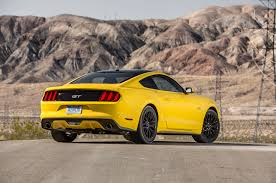 pics of ford mustang gt 2016 ford mustang gt test review motor trend
