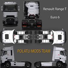 renault truck interior renault range t 480 euro 6 v6 polatlı mods team scs software