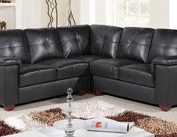 Black Leather Corner Sofa Ravello Corner Midnight Black Hb233 Sofashop