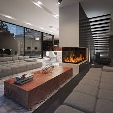 long narrow living room with fireplace in center 51 modern living room design from talented architects around the world