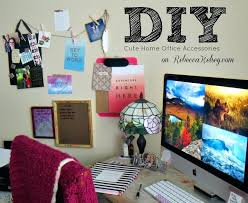 office decorations popular cute desk accessories throughout diy office decorations 9