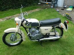 restored honda cd175 1974 photographs at classic bikes restored