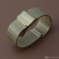 steel bracelet strap images Stainless steel watch bands strap mesh watchbands thinner jpg