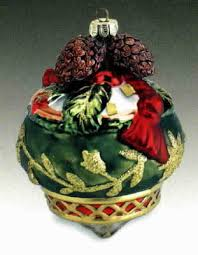 fitz floyd retired glass ornaments
