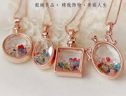 diy necklace wholesale images New mom necklace lock of baby hair keepsake locket handmade bottle jpg