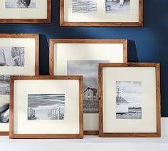 Pottery Barn Picture Frame Wood Gallery Oversized Mat Frames Pottery Barn Love The Idea Of
